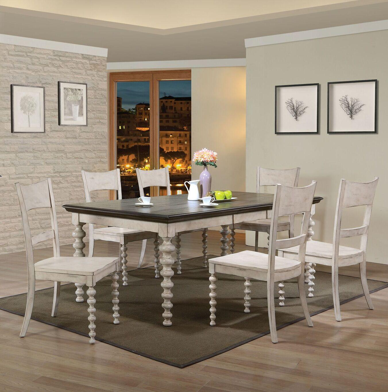 Dining Table Sets Bustillos 7 Piece Drop Leaf Dining Set