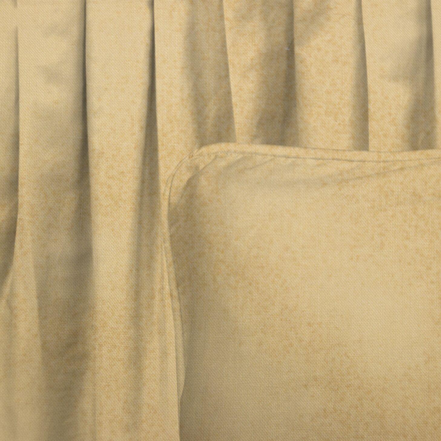 Schiller Peanut Bed Skirt Size: Queen