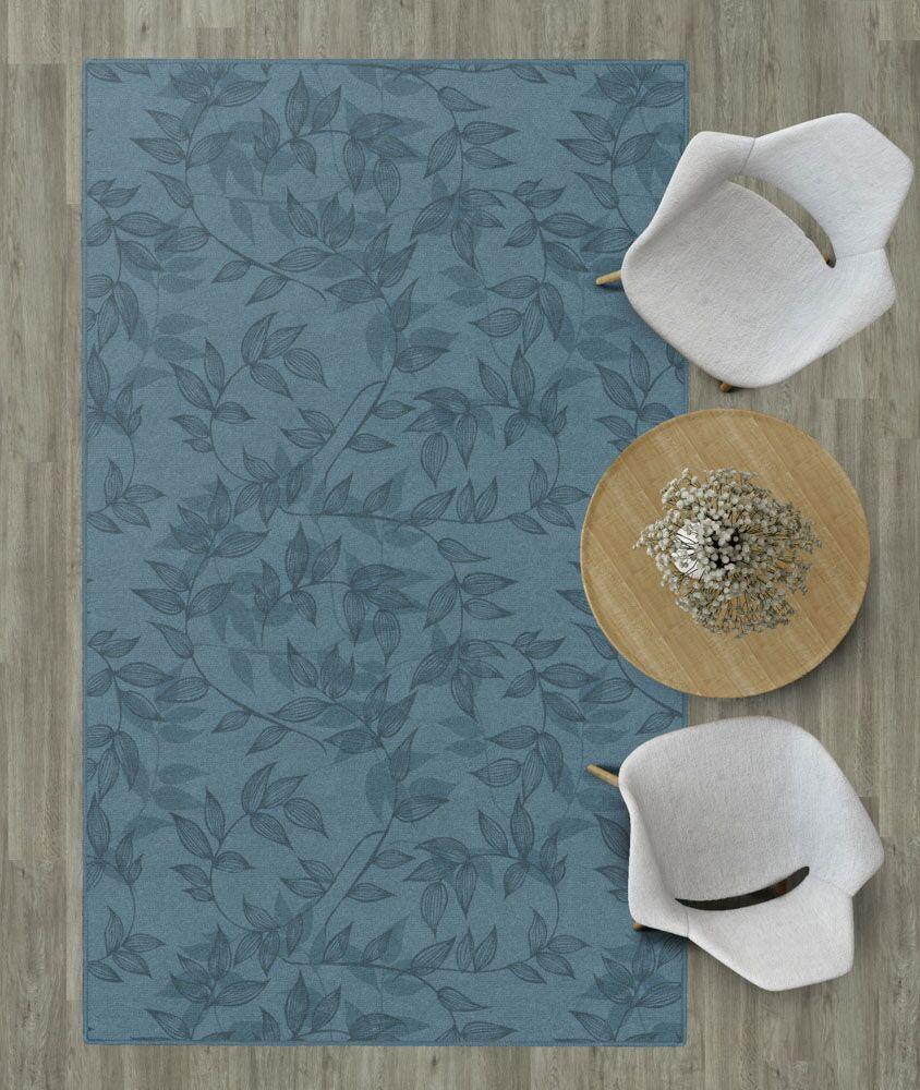 Roxana Floral Blue Area Rug Rug Size: Rectangle 5' x 8'