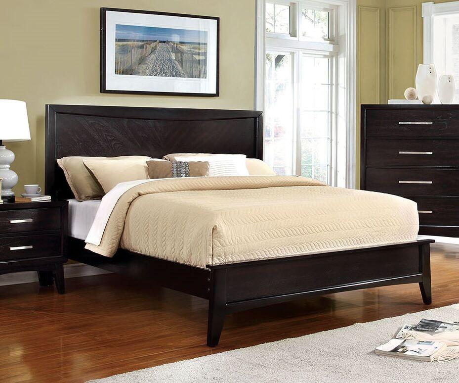 Marlborough Platform Bed Size: Full, Color: Espresso