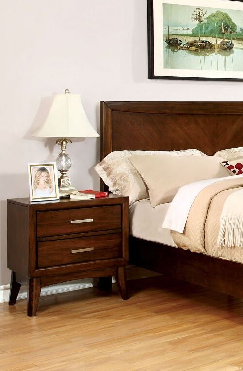 Marlborough 2 Drawer Nightstand Color: Brown Cherry