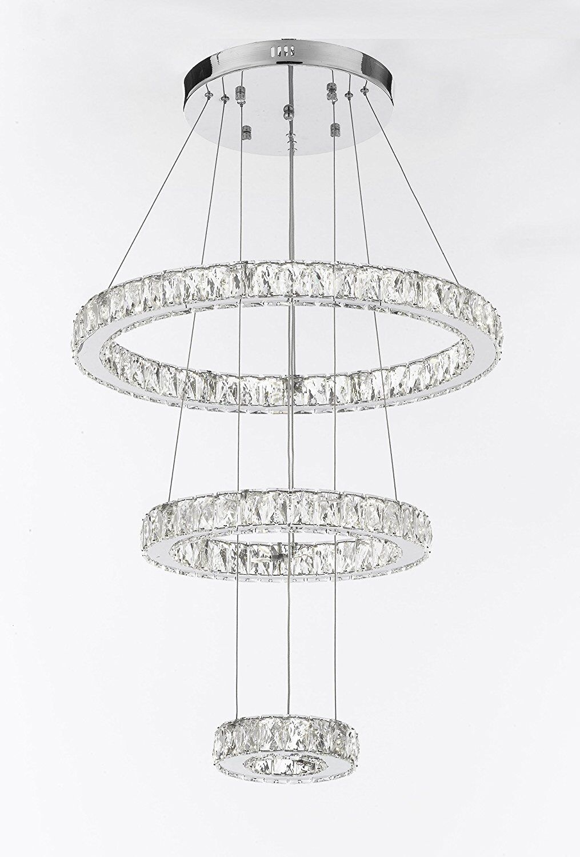 Lawton 162-Light LED Crystal Chandelier