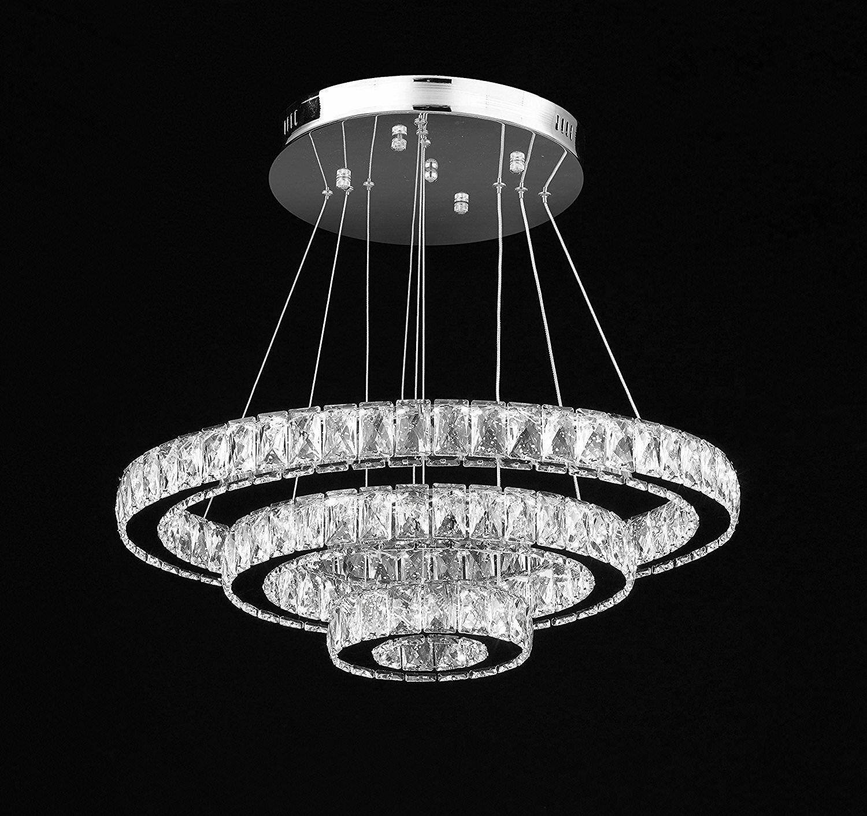 Lechuga 81-Light LED Crystal Chandelier