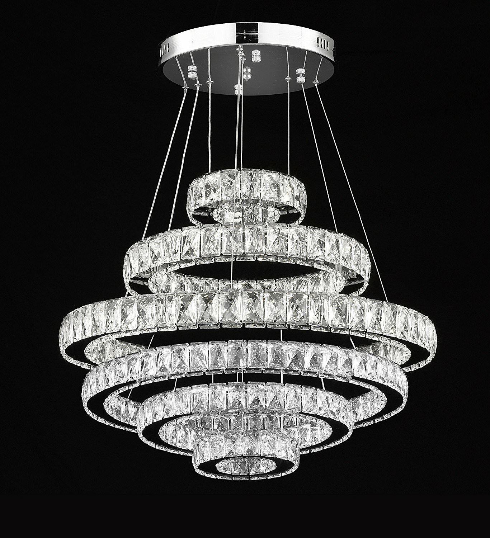 League 189-Light LED Crystal Chandelier