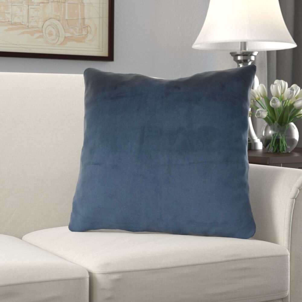 Kimsey Solid Luxury Pillow Size: 20
