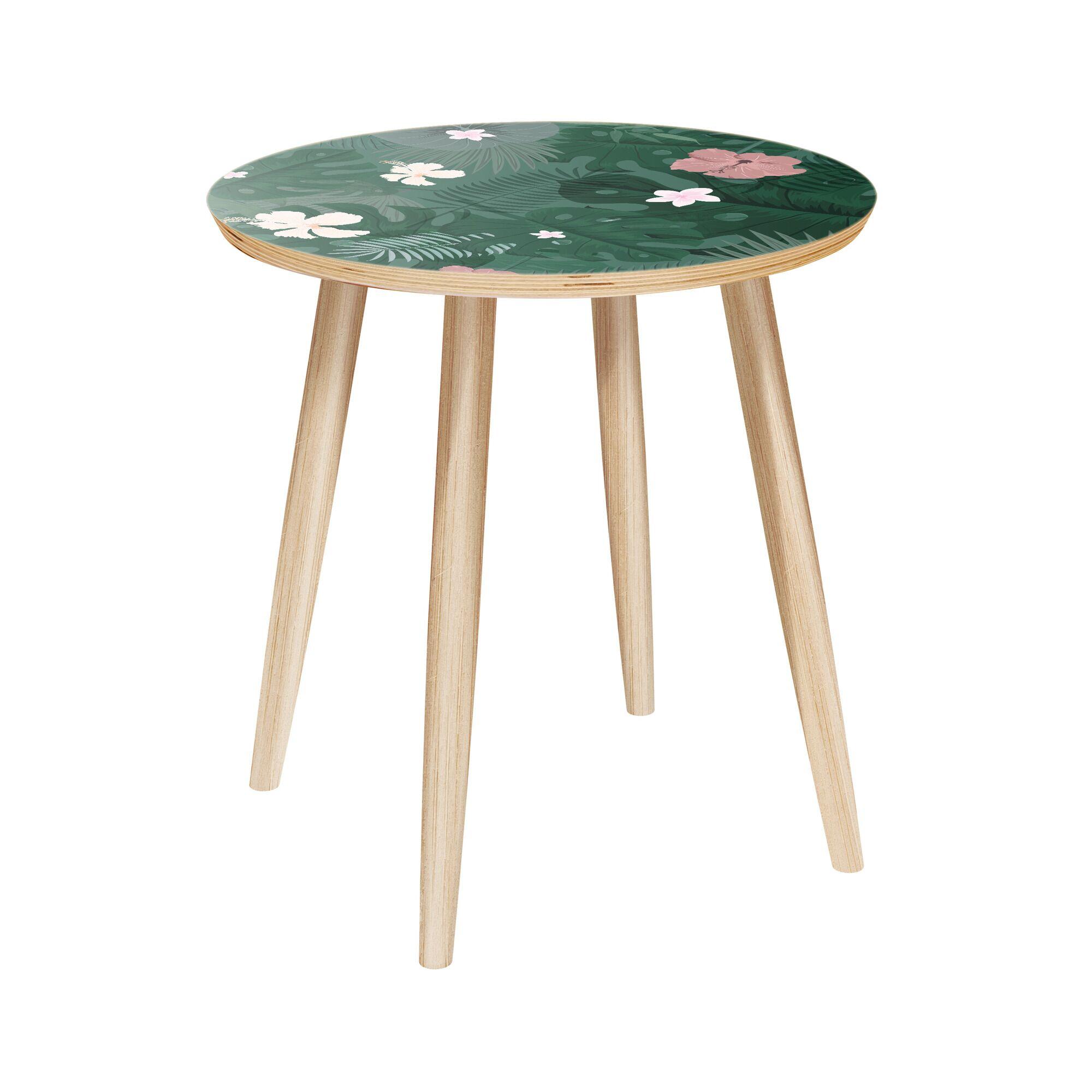 Lashanda End Table Color: Natural