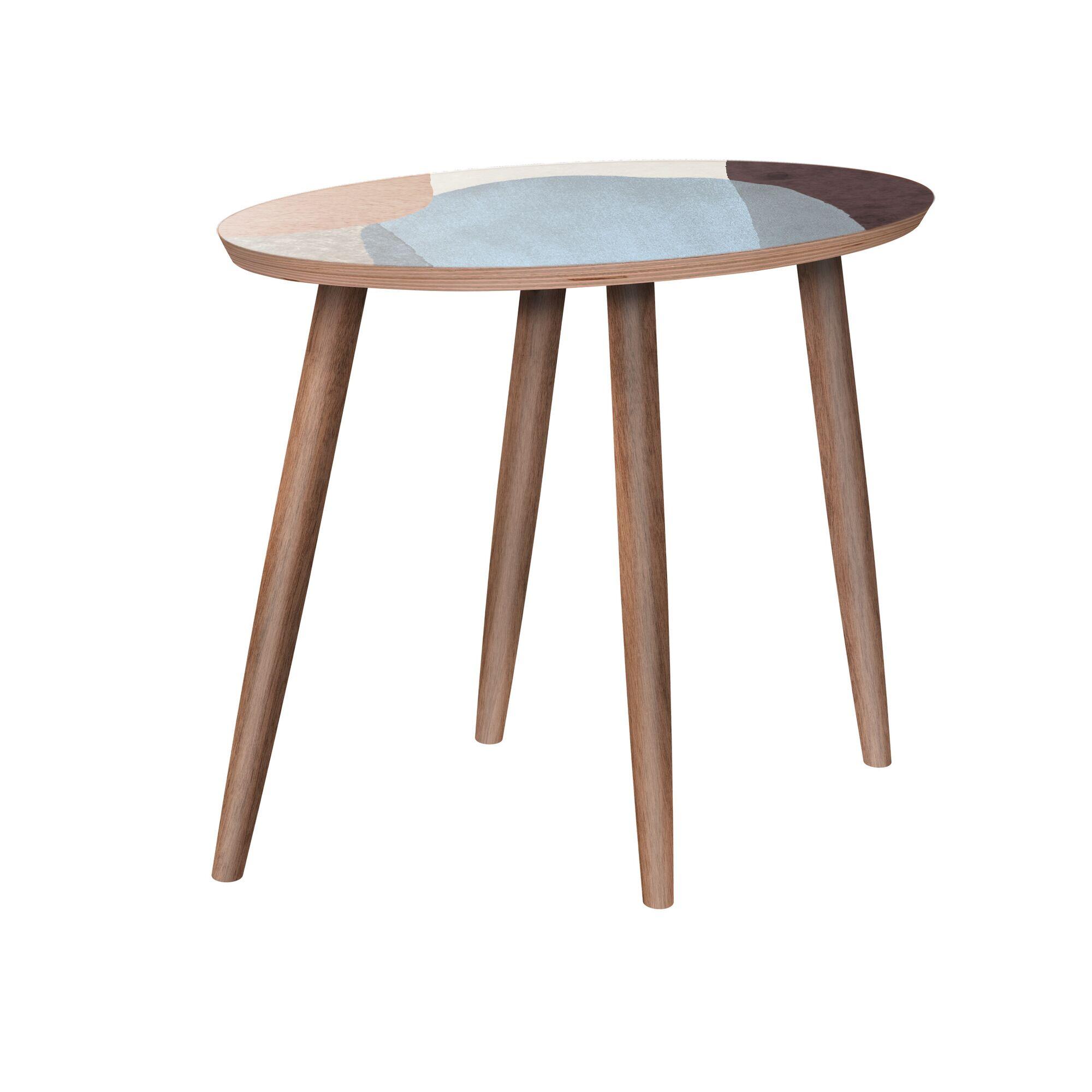 Fason End Table Color: Walnut
