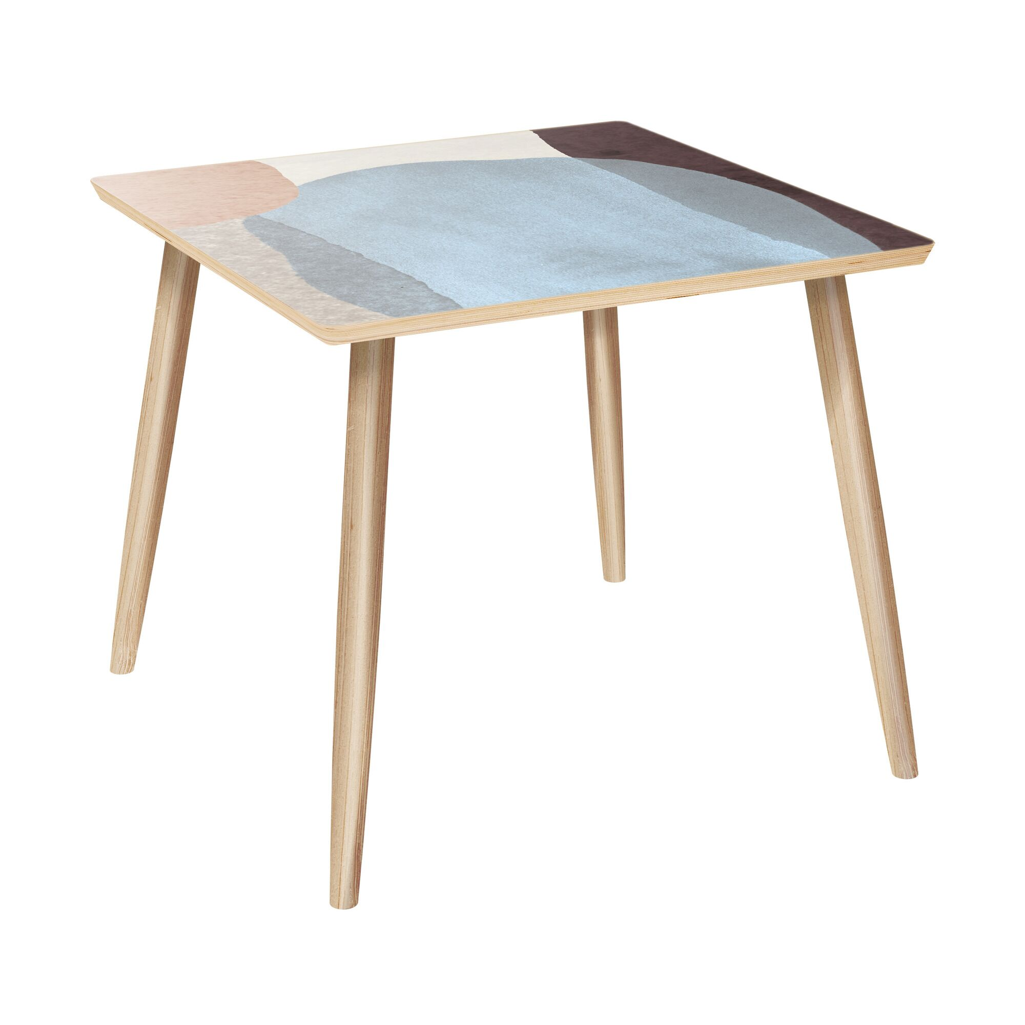 Farwell End Table Color: Natural
