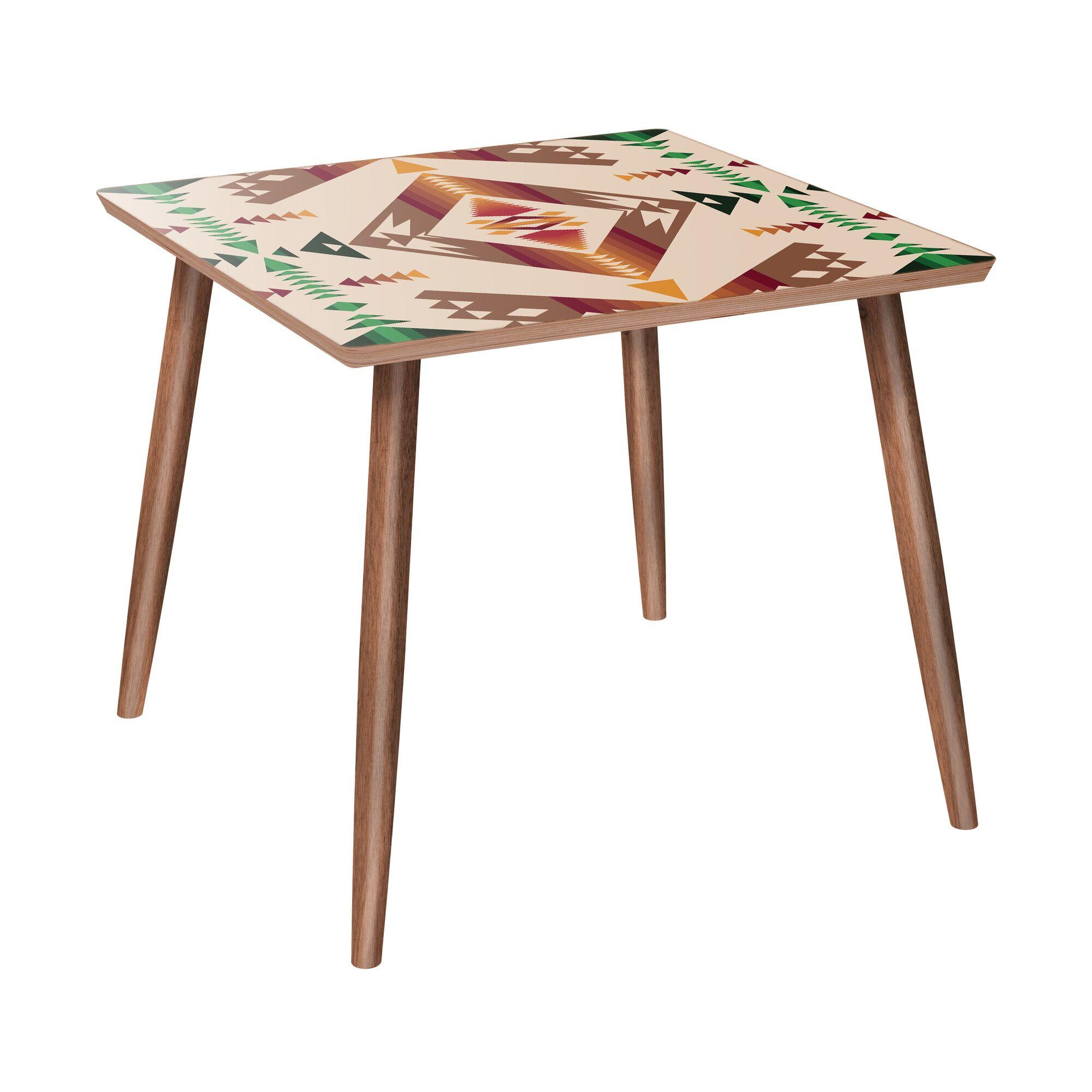 Argent End Table Color: Walnut