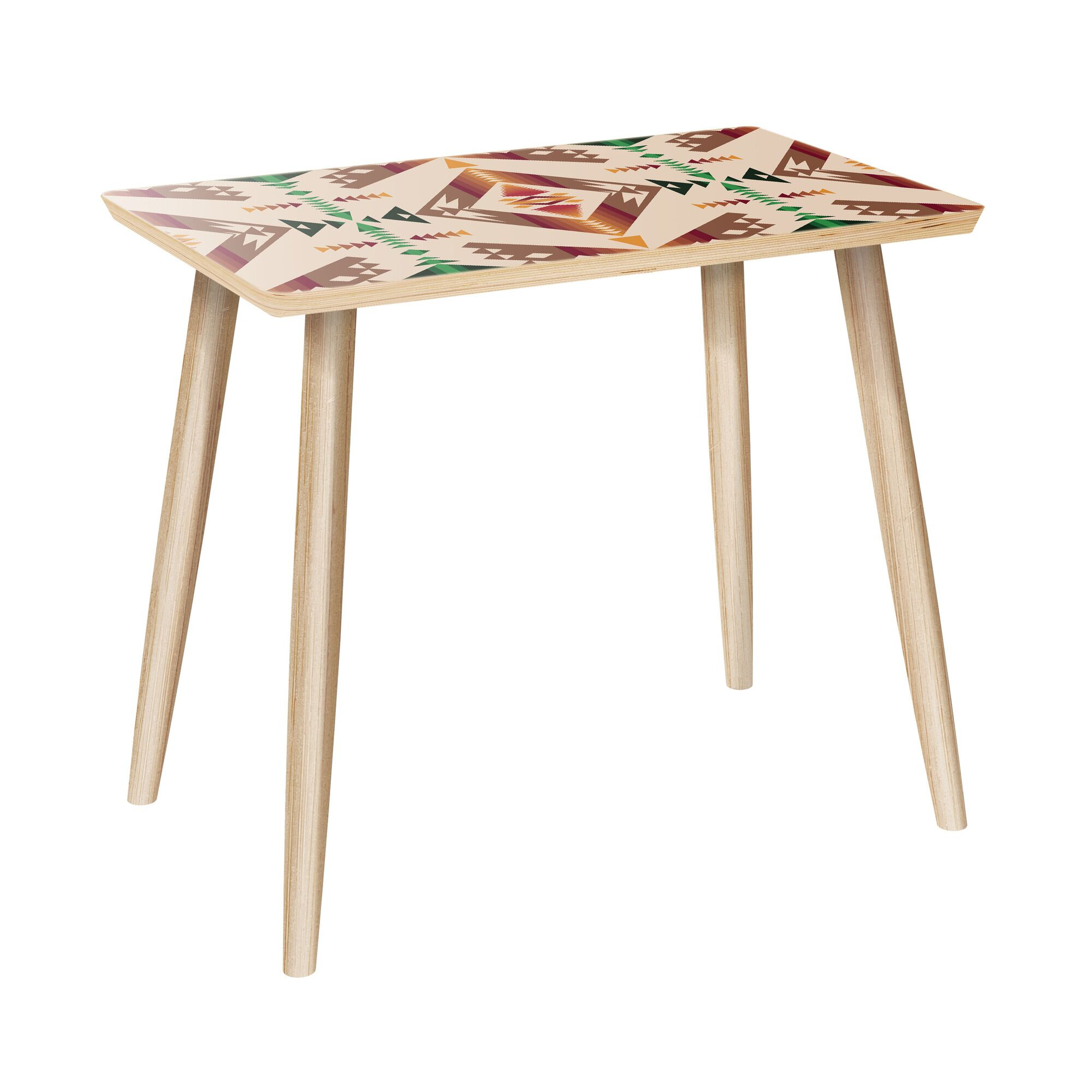Ardent End Table Color: Natural