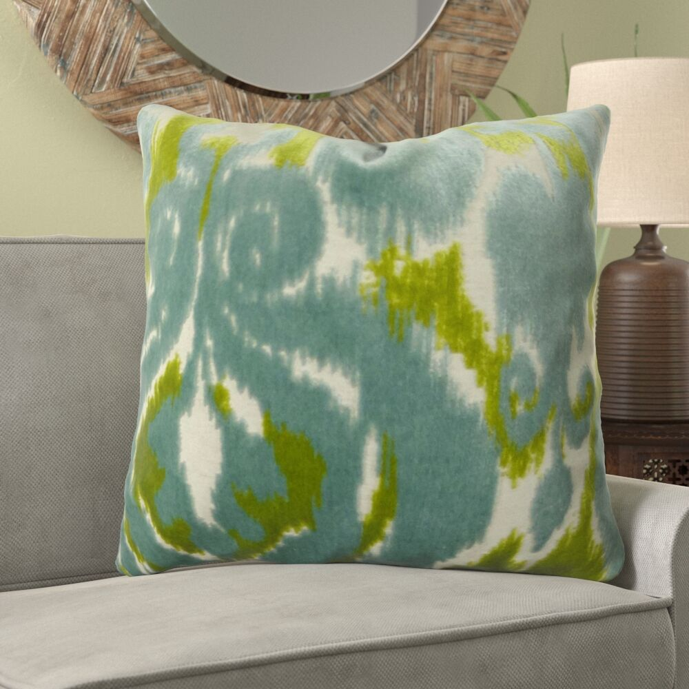 Caroll Citrine Designer Pillow Fill Material: H-allrgnc Polyfill, Size: 18