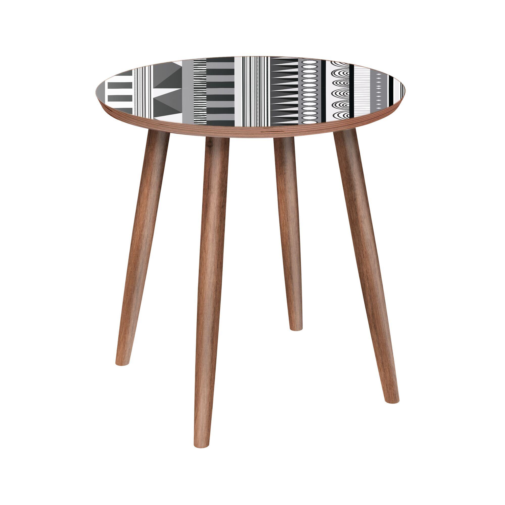 Two Bridges End Table Color: Walnut