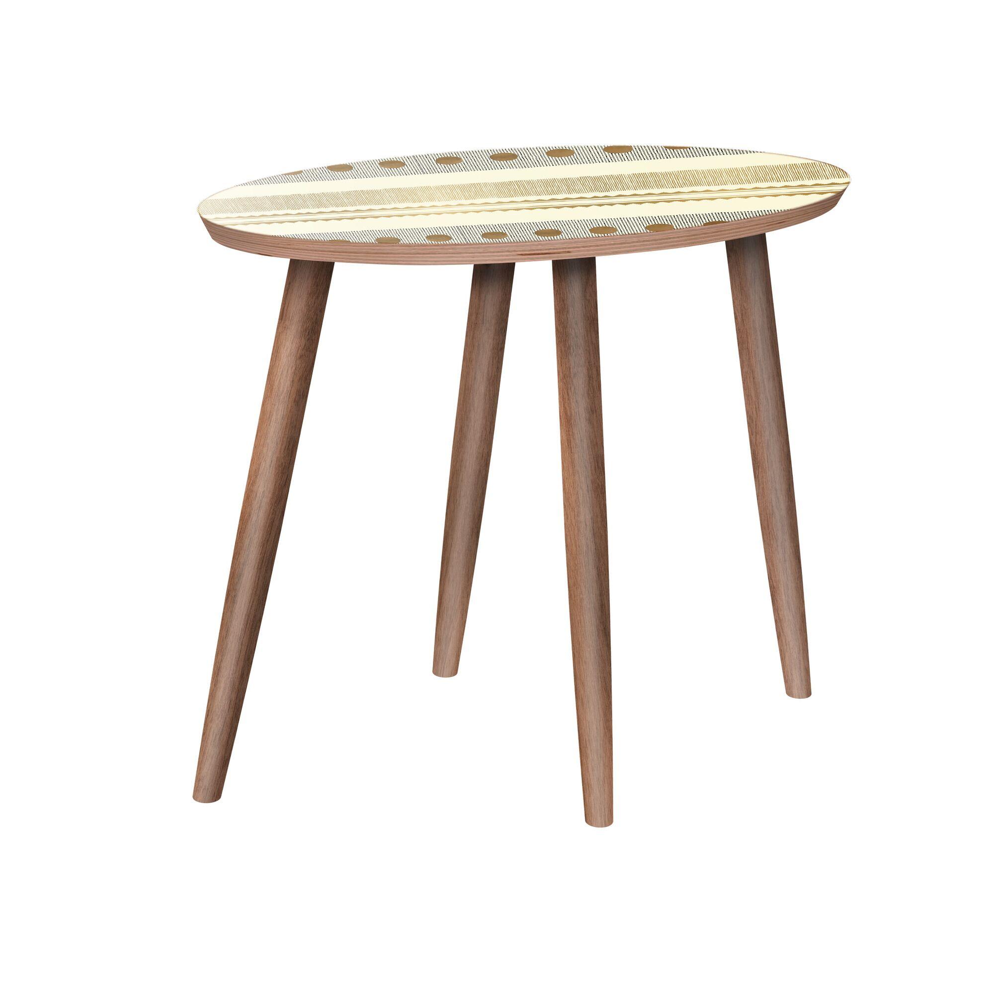 Midhurst End Table Color: Walnut