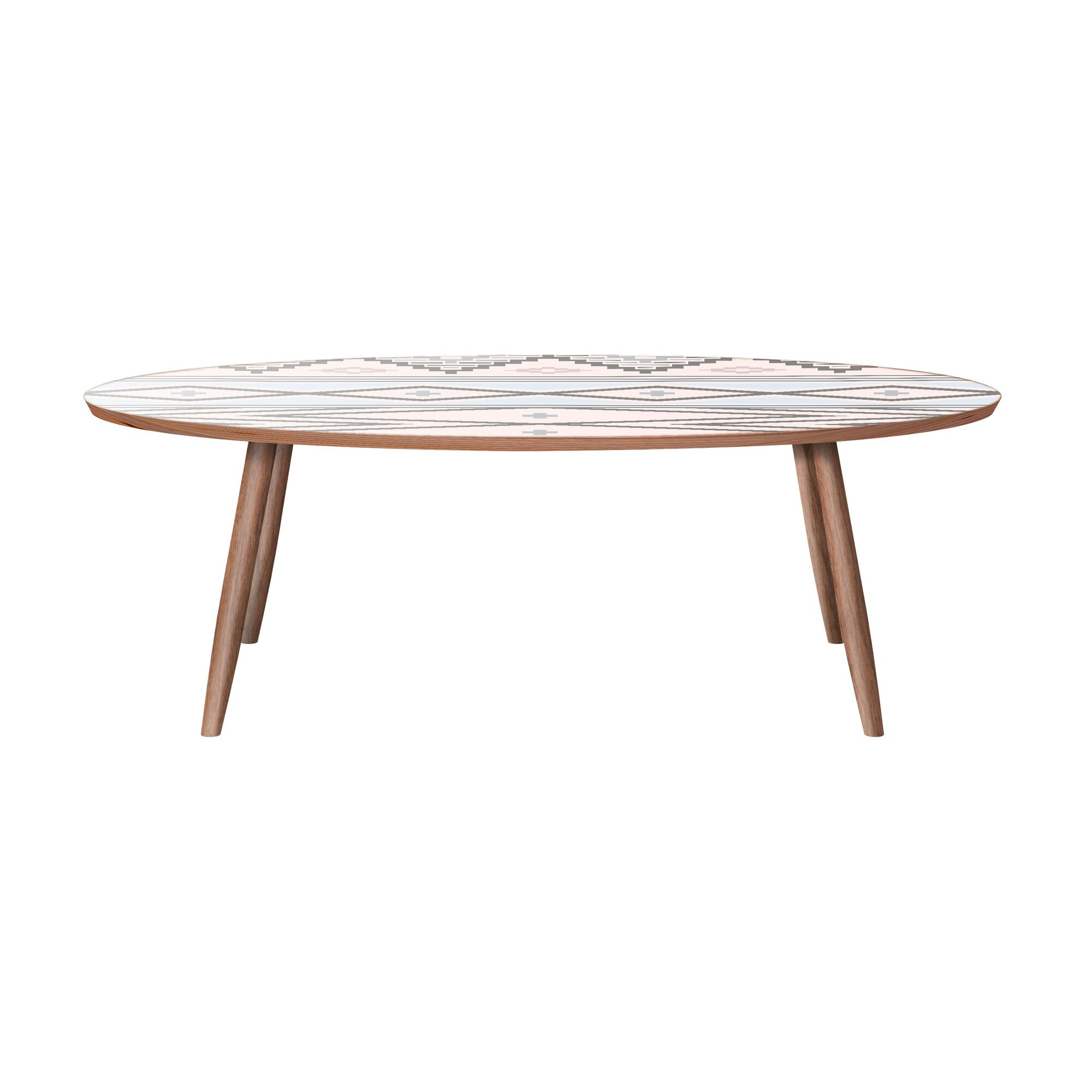 Ungar Coffee Table Color: Walnut