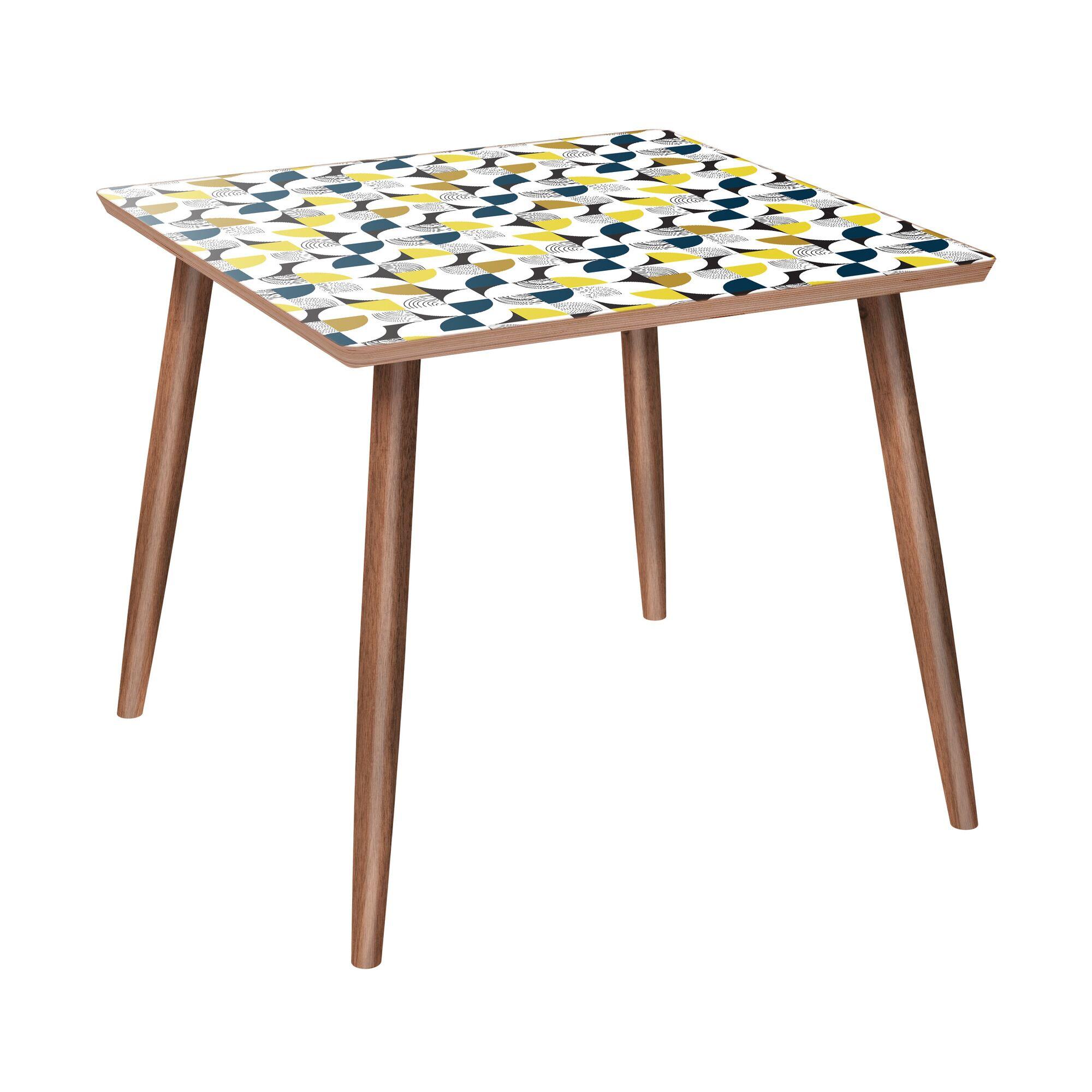 Leibowitz End Table Color: Walnut