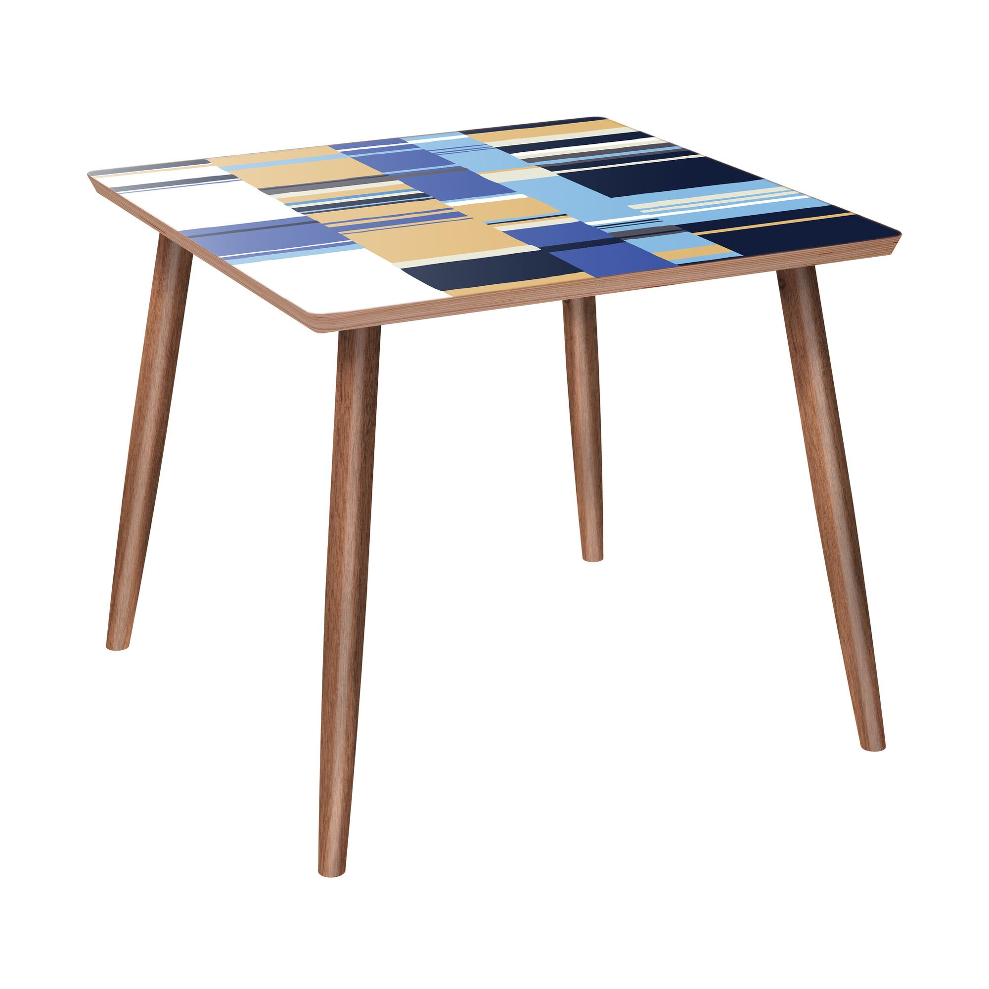 Leicester End Table Color: Walnut