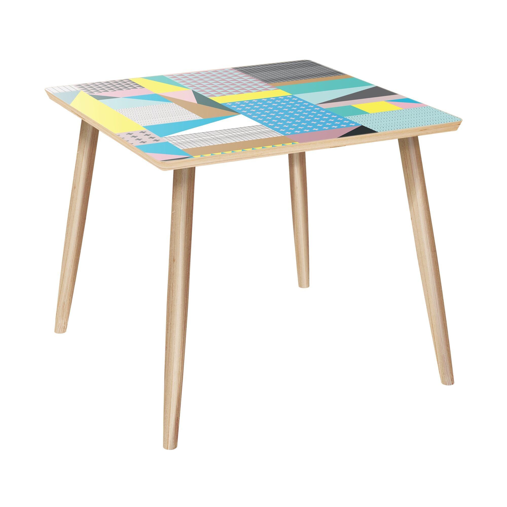Linden End Table Color: Natural
