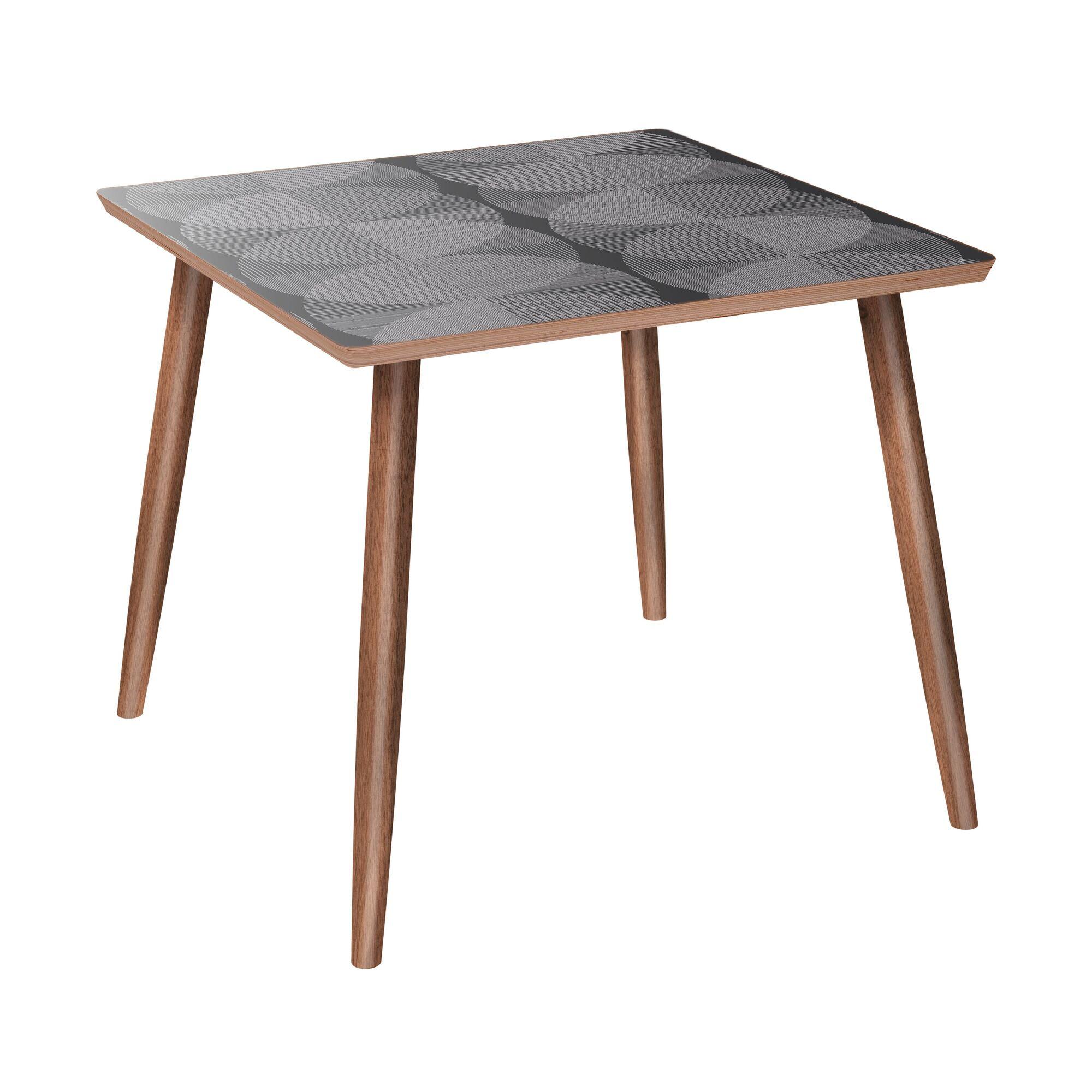 Falbo End Table Color: Walnut