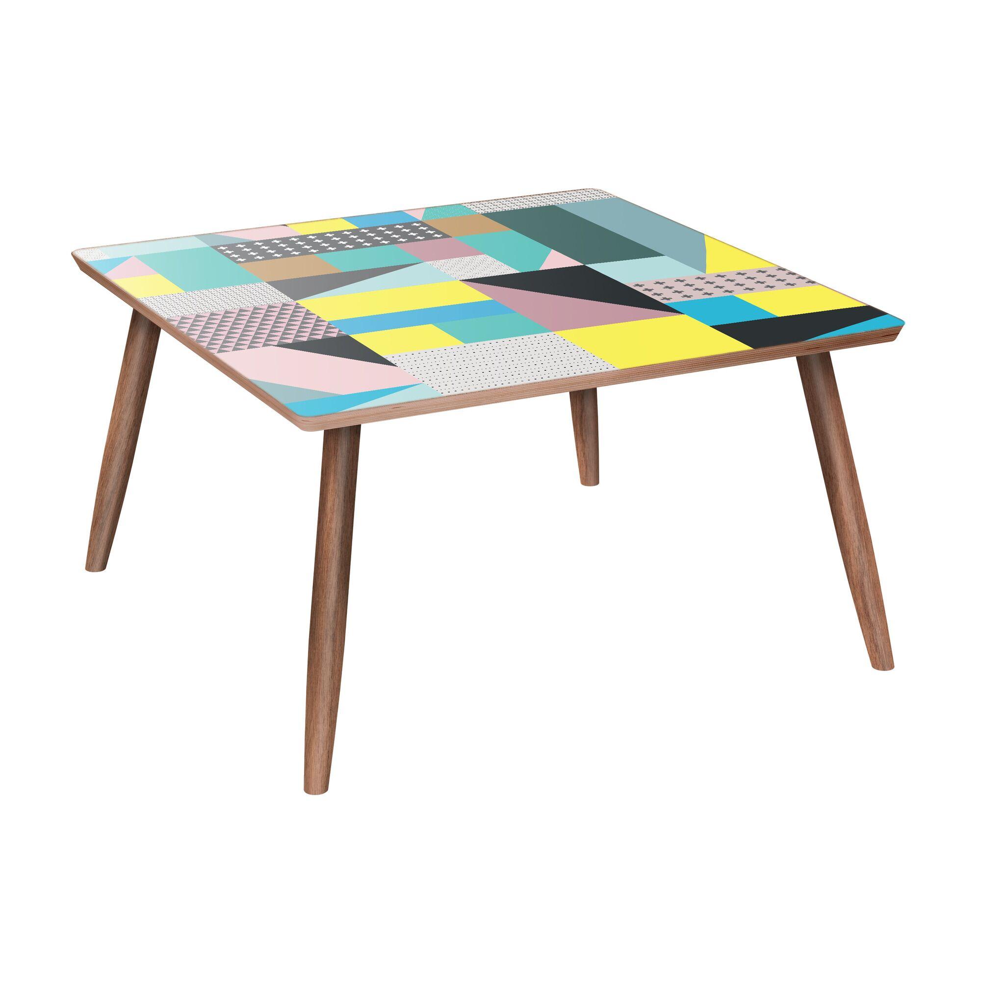 Manderson Coffee Table Color: Walnut