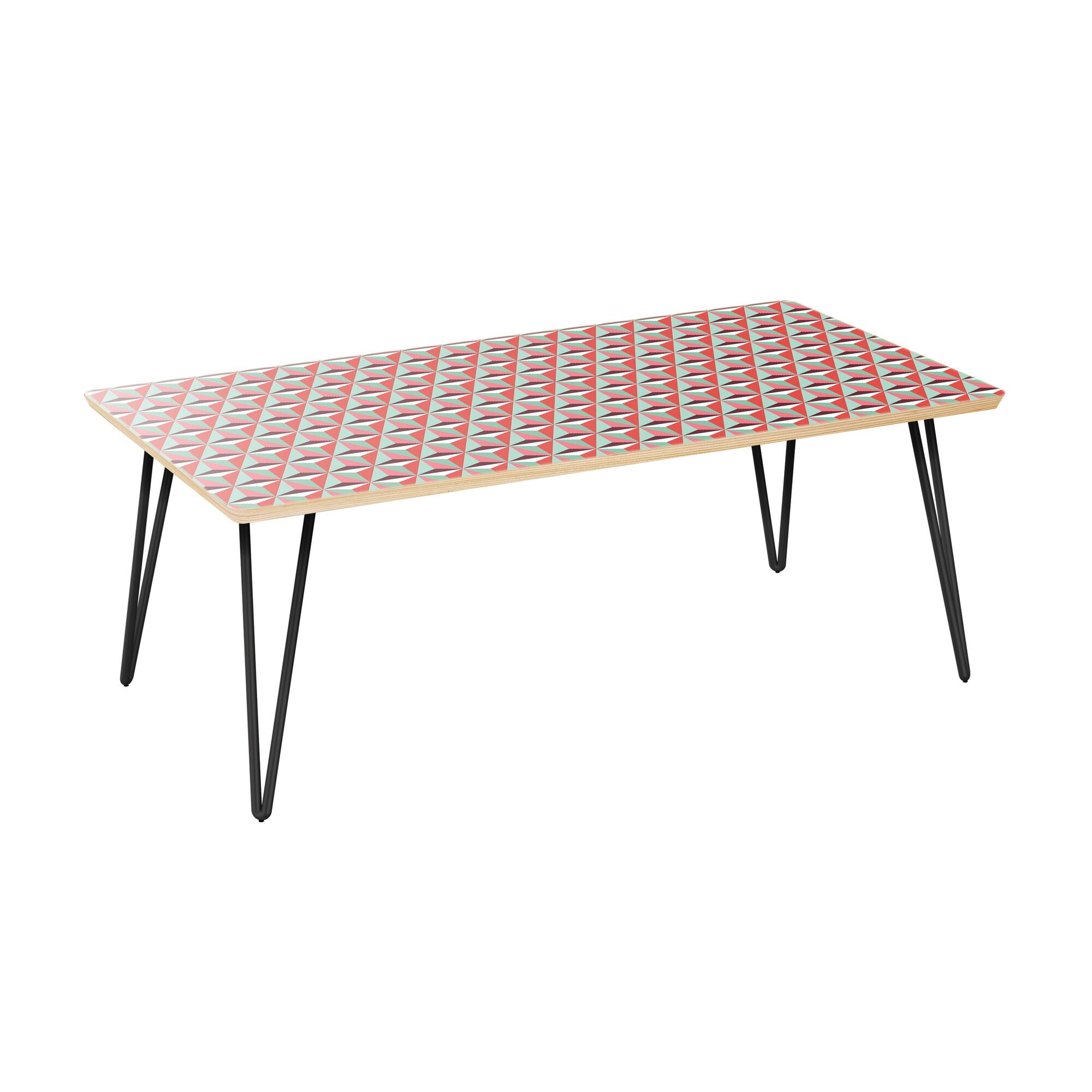 Scholten Coffee Table Table Top Color: Natural, Table Base Color: Black