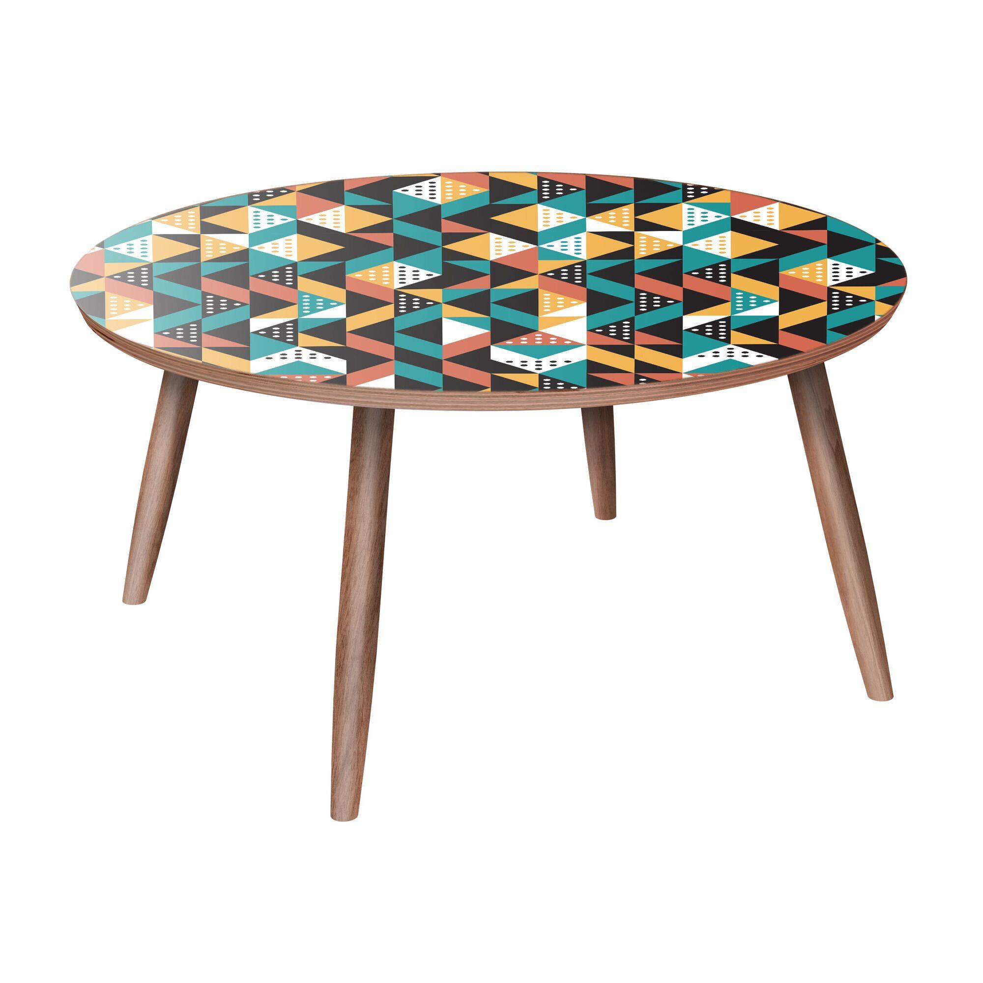 Ardlow Coffee Table Color: Walnut