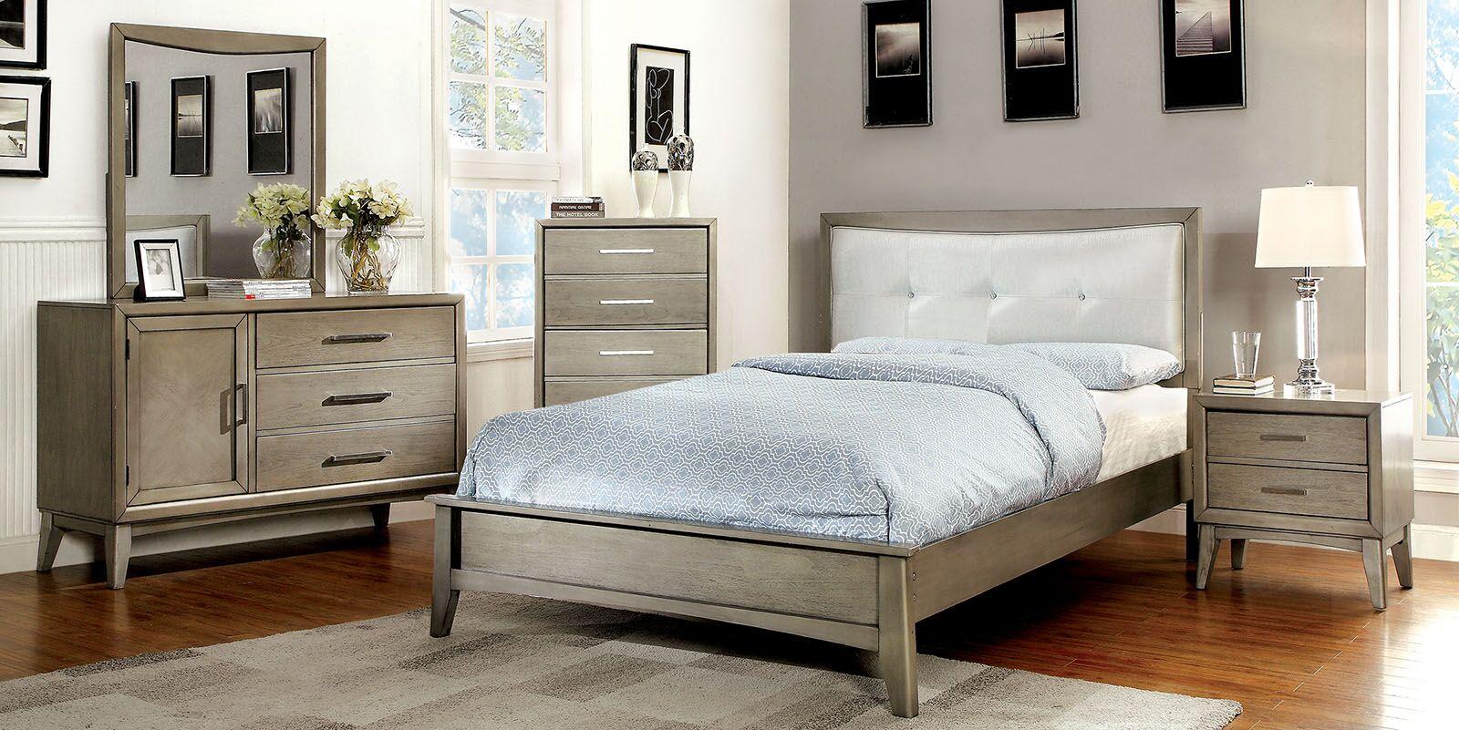 Albarado Platform Configurable Bedroom Set