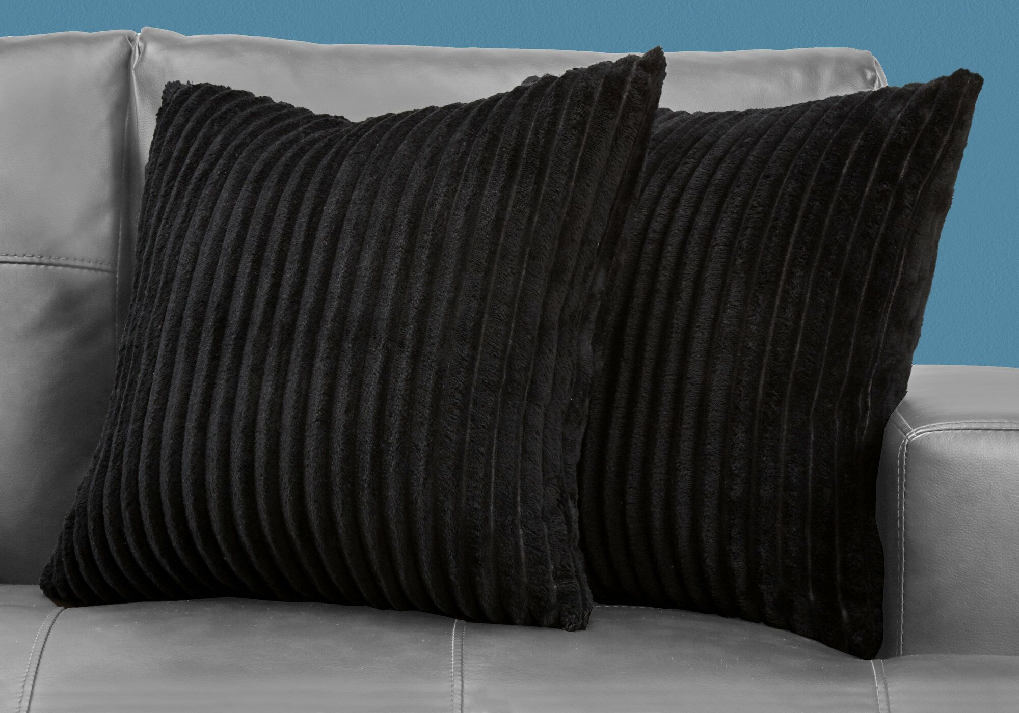 Jani Throw Pillow Color: Black