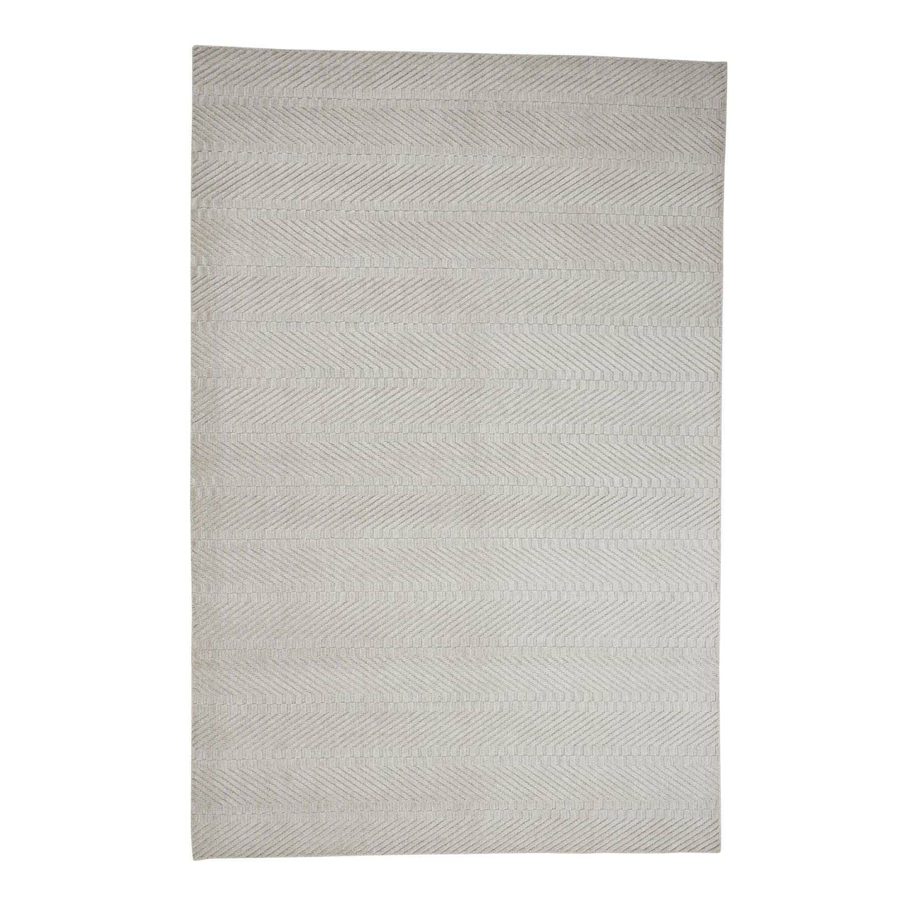 One-of-a-Kind Haglund Oriental Hand-Knotted Beige Area Rug