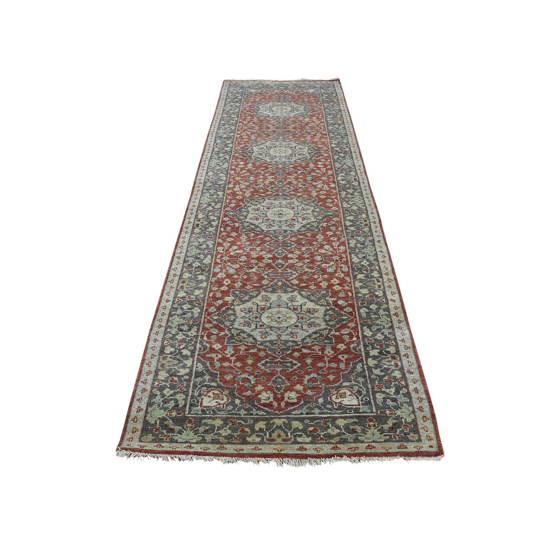 One-of-a-Kind Kasen Haji Jalili Re-Creation Oriental Hand-Knotted Red Area Rug