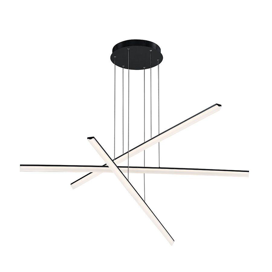 Frampton Cotterell 3-Light LED Novelty Pendant Finish: Black
