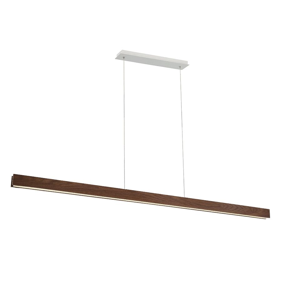 Drift 1-Light LED Novelty Chandelier Finish: Dark Walnut, Size: 3
