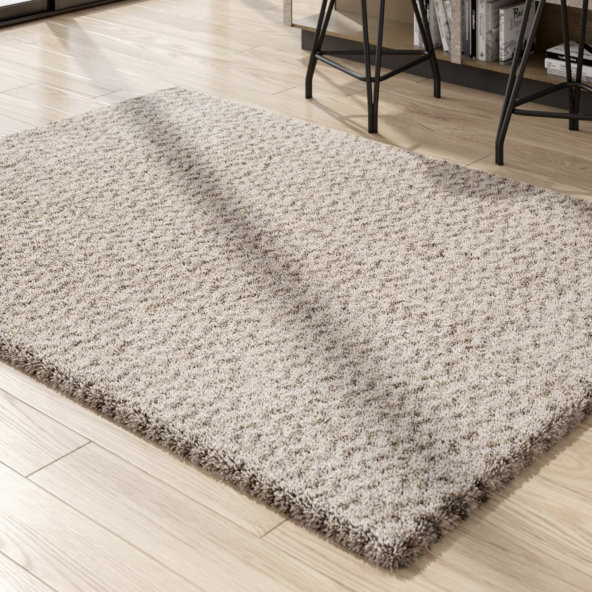 Cammie Ivory Area Rug Rug Size: Square 7'