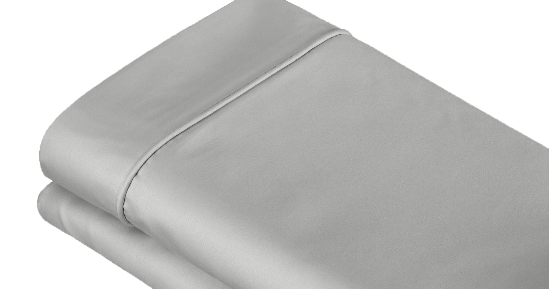 400 Thread Count 100% Cotton Sheet Set Color: Dove Gray, Size: King