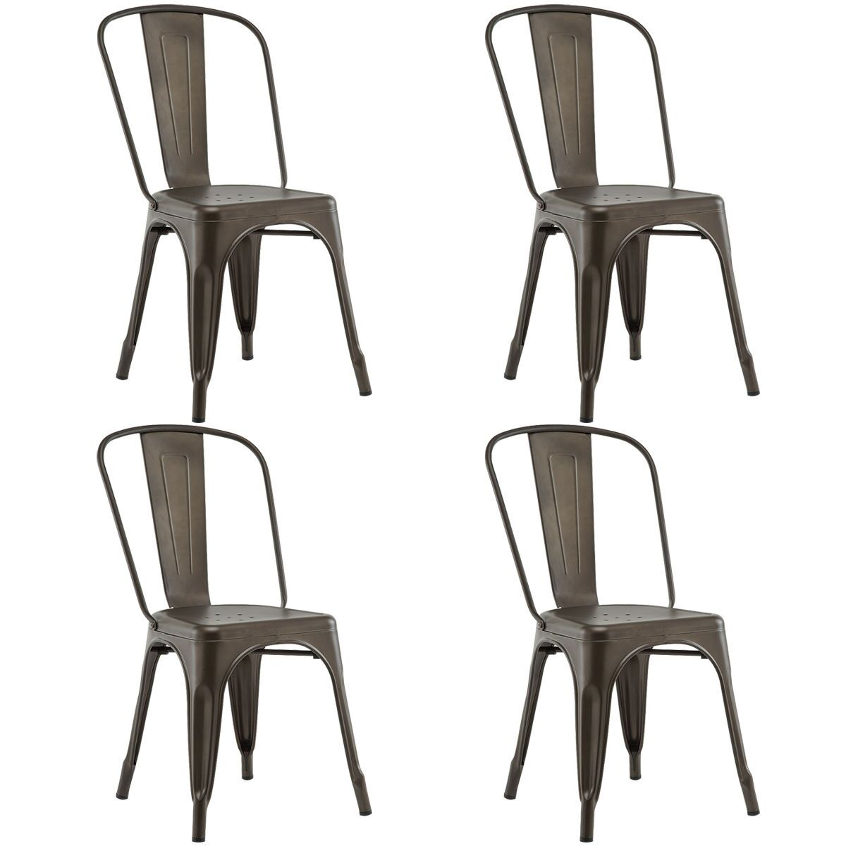 Nakamura Dining Chair Color: Copper