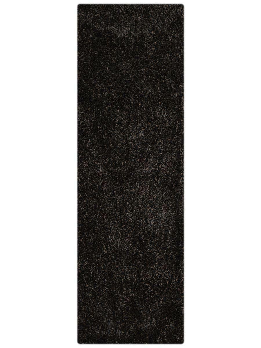 Housel Hand-Tufted Black Area Rug
