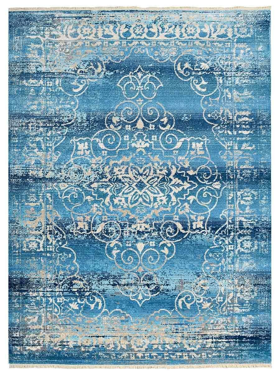 Hartshorn Crossweave Blue Area Rug Rug Size: Rectangle 6' x 9'