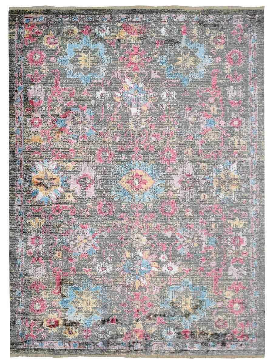 Hartshorn Crossweave Pink/Brown Area Rug Rug Size: Rectangle 6' x 9'