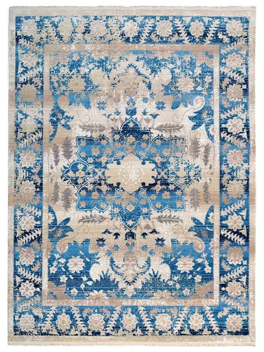 Hartshorn Crossweave Blue Area Rug Rug Size: Rectangle 4'8