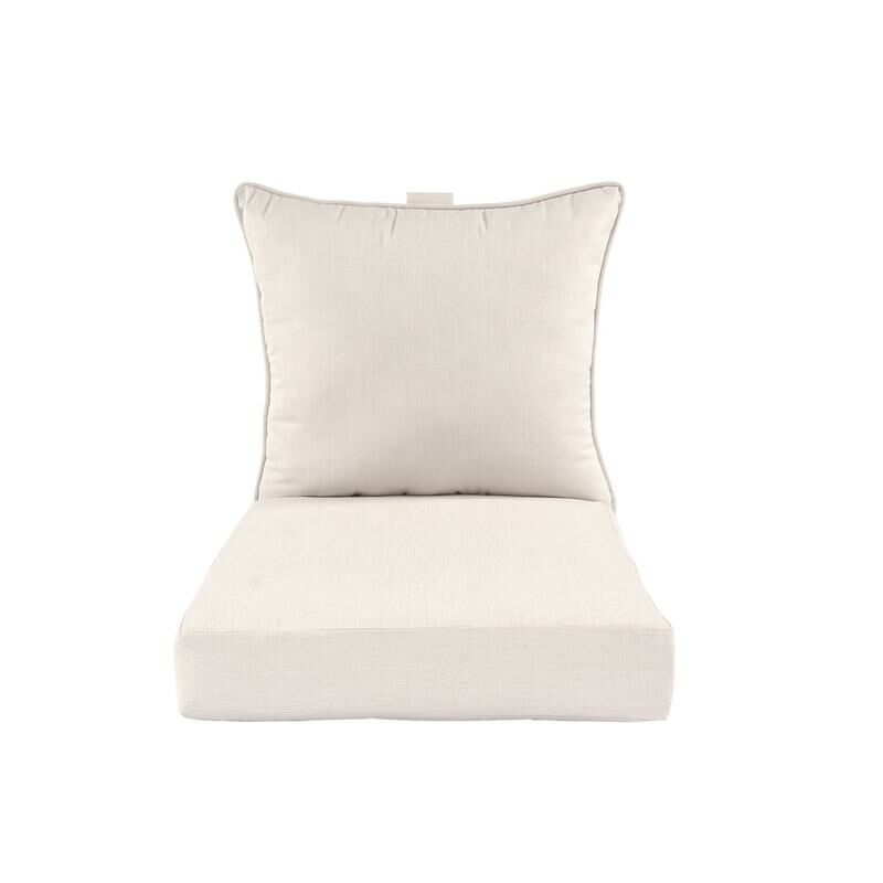 Premium Indoor/Outdoor Lounge Chair Cushion Fabric: Sand