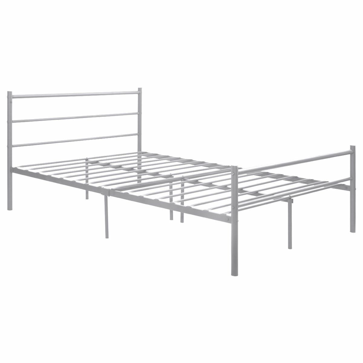Ferland Platform Bed Frame Color: Silver