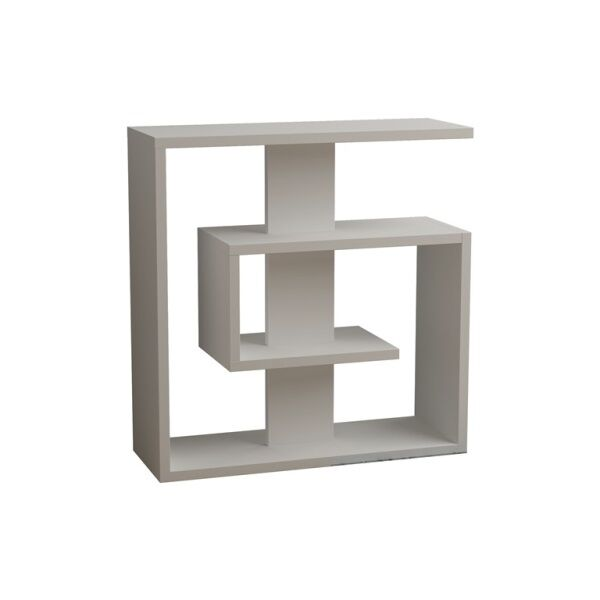 Rieves Modern End Table Color: White
