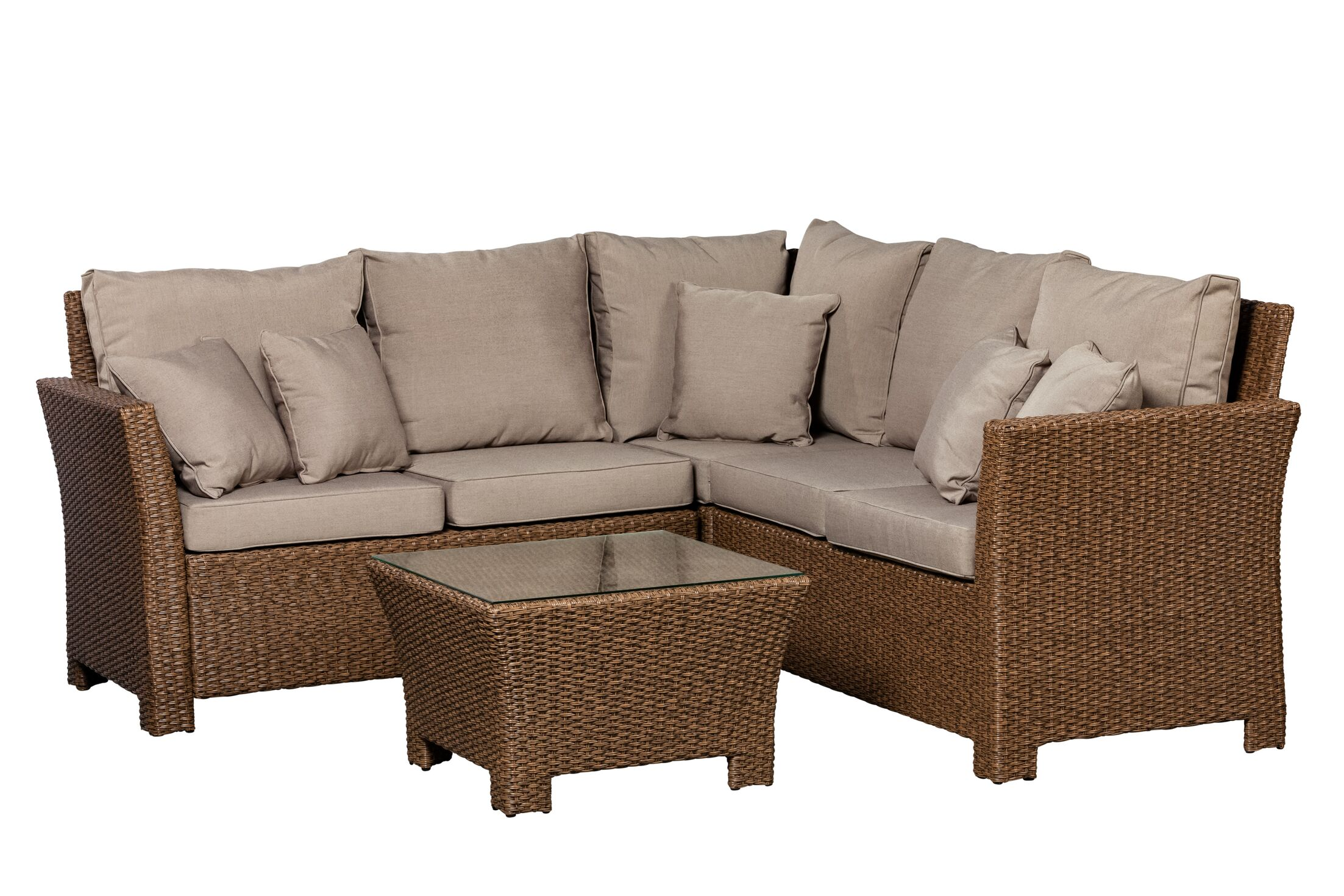 Jarrett 2 Piece Sectional Set with Cushions