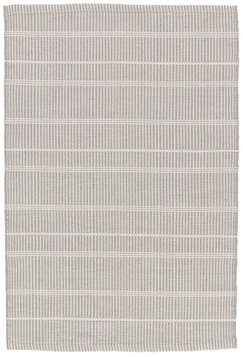 Samson Hand-Woven Gray Indoor/Outdoor Area Rug Rug Size: Rectangle 5' x 8'
