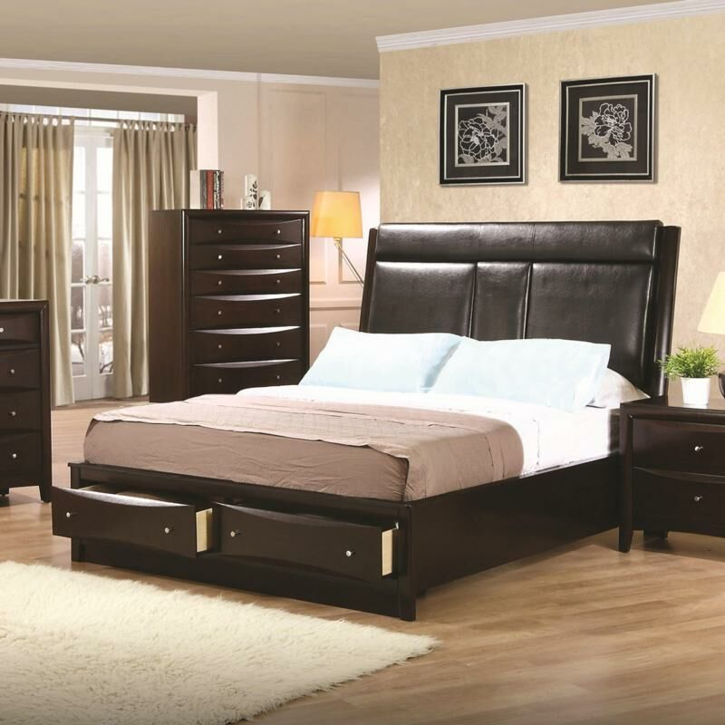 Deeanna Upholstered Storage Platform Bed Size: California King