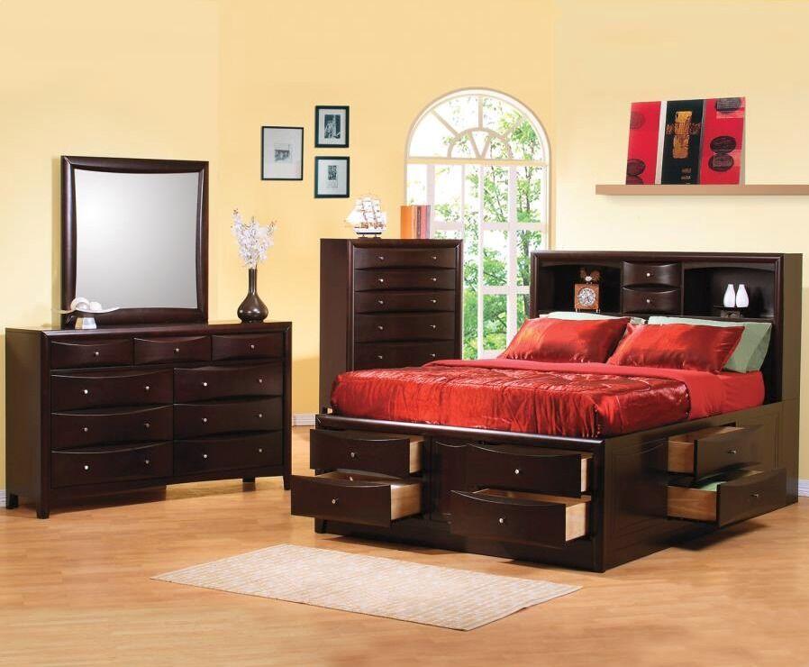 Deeanna Platform Configurable Bedroom Set