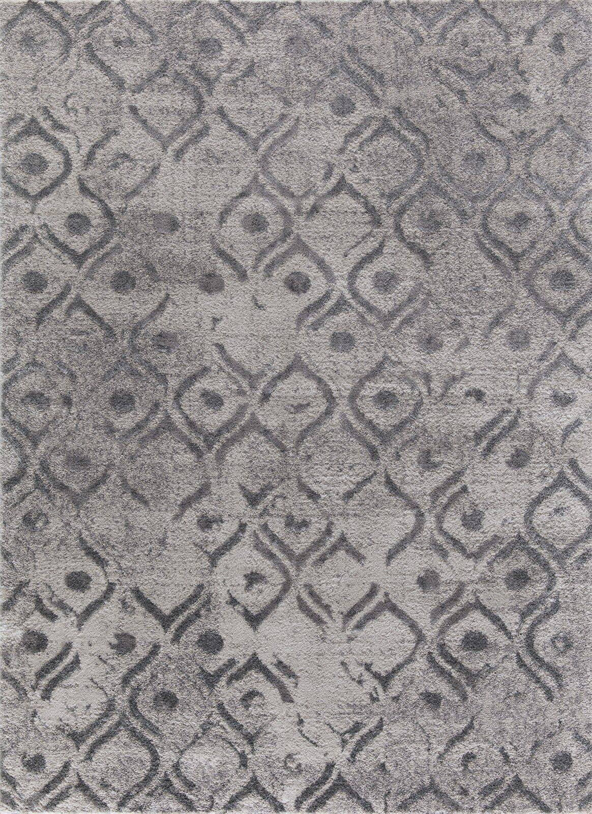 Nickols Gray Area Rug Rug Size: Rectangle 7'8