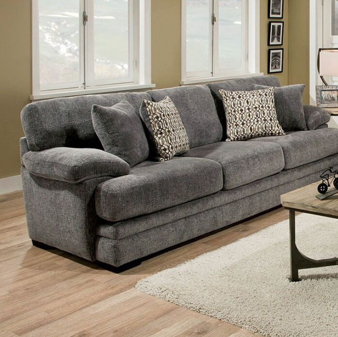 Armadillo Sofa Upholstery: Gray