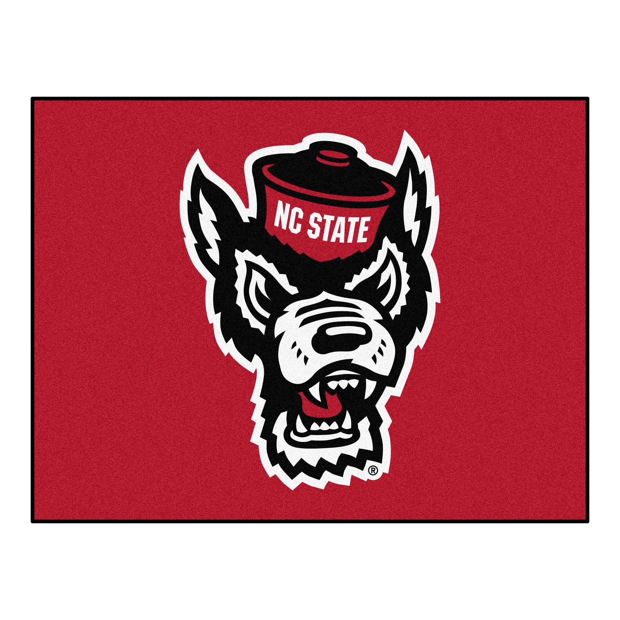 North Carolina State University Doormat Mat Size: Rectangle 2'10