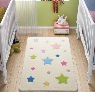 Sherrill Baby Stars Beige Area Rug