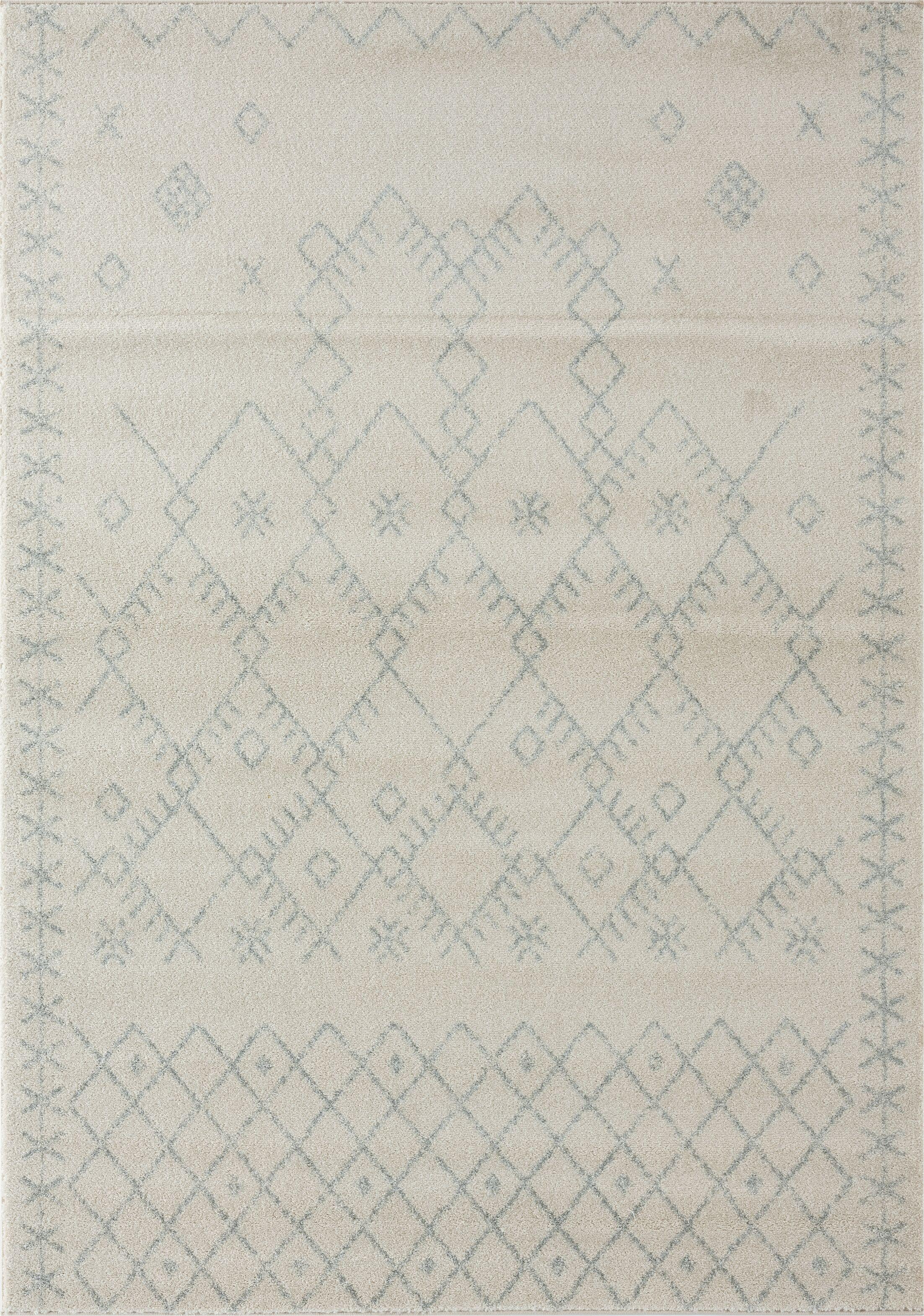 Cascio Cream Linen Area Rug Rug Size: Rectangle 5' x 7'